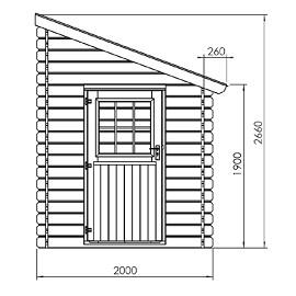 abri de jardin adossable 5 m bois 28 mm pefc plantes et jardins. Black Bedroom Furniture Sets. Home Design Ideas