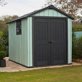 Abri de jardin résine Keter Oakland 5 11 m² Ep 20 mm