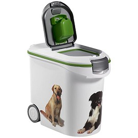 Conteneur croquettes chien 20 kg curver