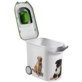 conteneur croquettes 20 kg pour chiens curver plantes et jardins. Black Bedroom Furniture Sets. Home Design Ideas