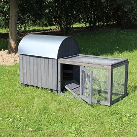 poulailler iron 2 poules parcours inclus plantes et jardins. Black Bedroom Furniture Sets. Home Design Ideas