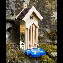Abri et mangeoire pour papillons plantes et jardins - Plantes pour papillons ...
