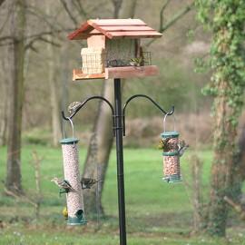 Choisir les mangeoires des oiseaux du jardin gamm vert - Plan de mangeoire pour oiseaux du jardin ...