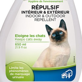 R pulsif int rieur ext rieur pour chats 650ml plantes for Repulsif chat exterieur