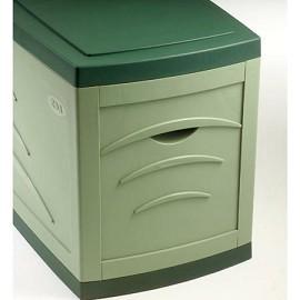 coffre de jardin maxi serena 500l vert plantes et jardins. Black Bedroom Furniture Sets. Home Design Ideas