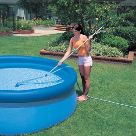 Kit piscine autoportante easy set intex d 4 88 m x h 1 for Balai piscine intex
