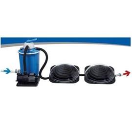 Chauffage solaire de piscine keops d me kokido plantes for Chauffage piscine dome solaire