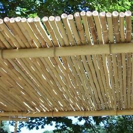 cl ture r guli re en bambou l200xh100 cm diam tre 2cm couleur naturel plantes et jardins. Black Bedroom Furniture Sets. Home Design Ideas