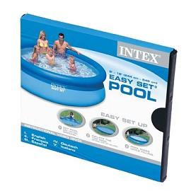 Kit piscine autoportante easy set intex d 4 88 m x h 1 - Piscine autoportante intex easy set ...