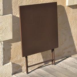 table gu ridon de jardin philao en acier 70 x 70 x 73 cm plantes et jardins. Black Bedroom Furniture Sets. Home Design Ideas