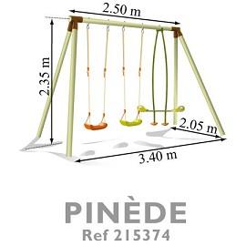 portique pinede soulet 2 balan oires 1 vis vis plantes et jardins. Black Bedroom Furniture Sets. Home Design Ideas
