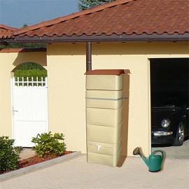 r cup rateur d 39 eau mural 300 litres beige bellijardin plantes et jardins. Black Bedroom Furniture Sets. Home Design Ideas