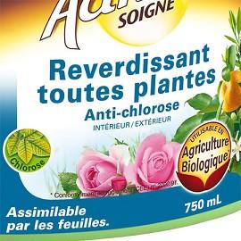 reverdissant toutes plantes anti chlorose 750 ml activasol algoflash plantes et jardins. Black Bedroom Furniture Sets. Home Design Ideas