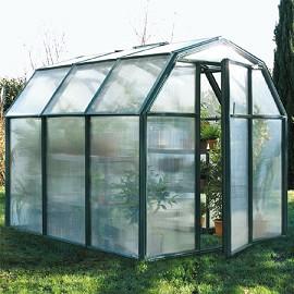 serre de jardin albizia 3 9 m2 en pvc et polycarbonate intermas celloplast plantes et jardins. Black Bedroom Furniture Sets. Home Design Ideas