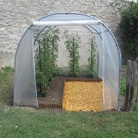 Serre tunnel mara ch re 6m2 l 2m x p 3m richel plantes et jardins - Serre de jardin 6m2 ...