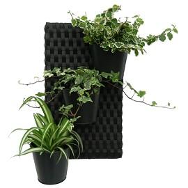 suspension murale pour plante lampe led autocollante. Black Bedroom Furniture Sets. Home Design Ideas