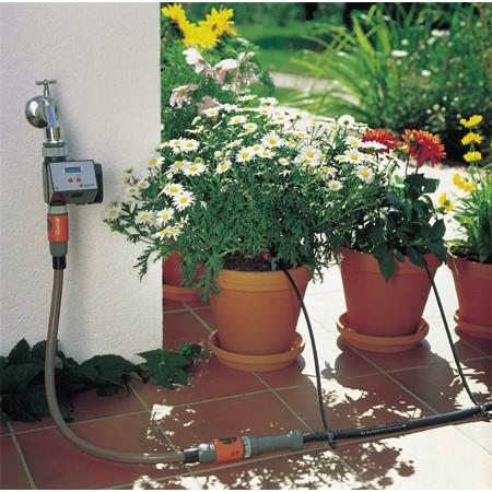 Pour assurer l'arrosage de vos plantes en cas d'absence : voir notre guide d'achat