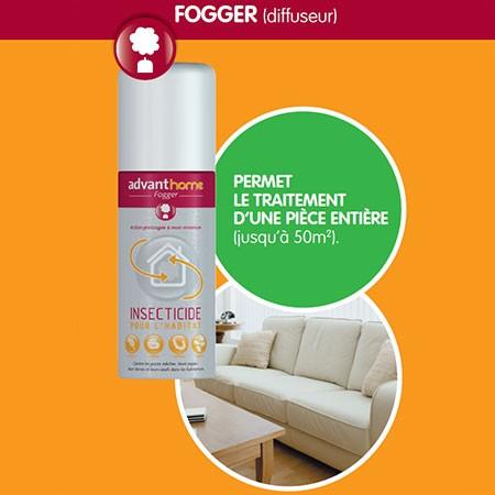 Advanthome Fogger 150 ml - Traitement de l'environnement des animaux