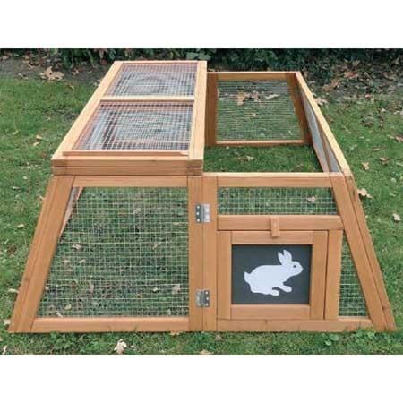 Enclos trapèze pliable pour petits animaux