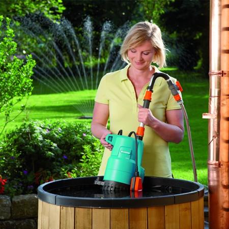 Pompe pour collecteur d'eau de pluie 4000/2 Gardena