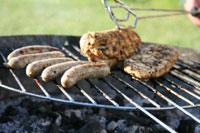 Le barbecue au charbon de bois
