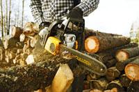 débitage du bois