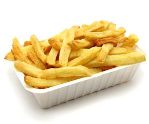 Les pommes de terre à chair farineuses font de très bonnes frites