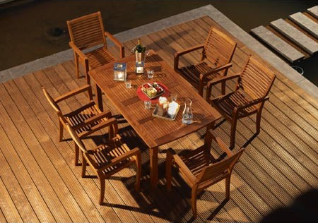 Salon De Jardin Eucalyptus Ou Acacia Table De Lit