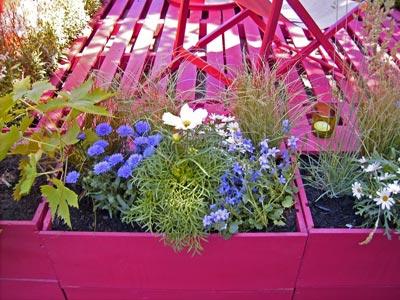 Des id es de d co pour un t fleuri des pots originaux for Decoration jardin pas chere