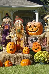 Un décor d'Halloween !