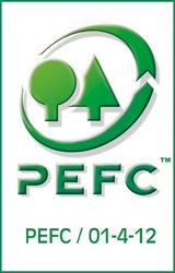 Le logo PEFC : la garantie d'une gestion durable des forêts
