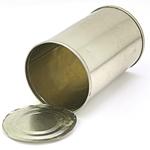 Les grosses boites de conserves font des pots originaux
