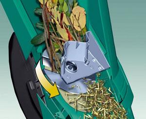 Broyage par plateau tournant à lames - Photo Bosch