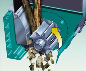 Broyage par rotor porte-couteaux - Photo Bosch