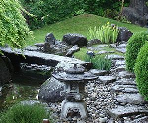 D Co Petit Pont Rouge Jardin Japonais Aulnay Sous Bois