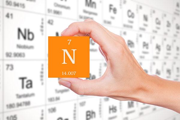 L'azote est un élément chimique