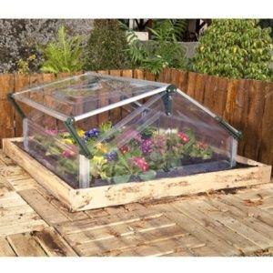 Serre châssis de jardin polycarbonate 1.13 m² Palram