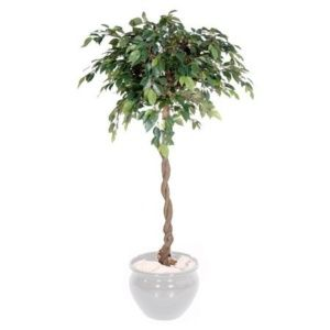 Ficus boule semi-artificiel 1m40