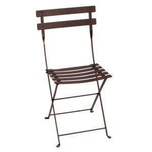 Chaise pliante Fermob Bistro acier rouille