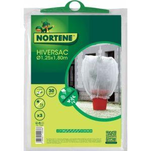 3 Housses d'hivernage pour plantes et arbustes en pots Hiversac Nortène