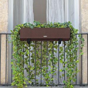 Jardinière résine, incassable, résistante aux intempéries et aux UV, design, réservoir d'eau intégré Plantes et Jardins – Jardinerie en ligne