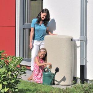 Récupérateur d'eau mural Terra 275 litres Sable 4rain