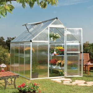 Serre de Jardin Mythos 4.60 m² polycarbonate + embase – Palram