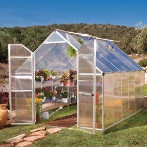 Serre de jardin Essence polycarbonate 8,80m2 + embase - Palram
