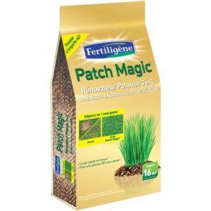 Patch Magic rénovateur pelouse Fertiligène 3,6 Kg Plantes et Jardins Jardinerie en ligne
