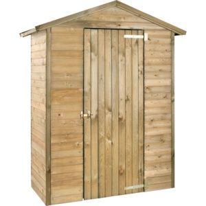 Armoire de jardin bois traité Merina L175 H215 cm – Jardipolys