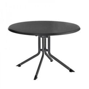 Table pliante Kettler résine Ø100 cm anthracite