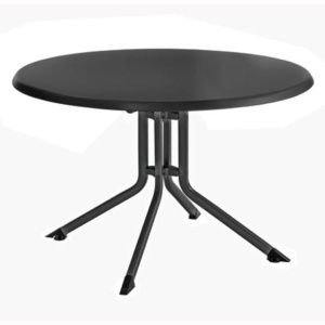 Table pliante Ø 115 cm – Anthracite – Kettler