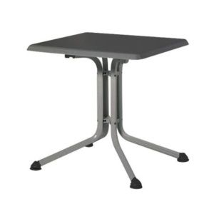 Table pliante 70 x 70 x 74 cm – Anthracite – Kettler