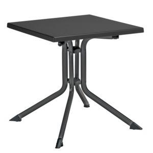 Table de jardin pliante résine Kettler L70 l70 cm anthracite